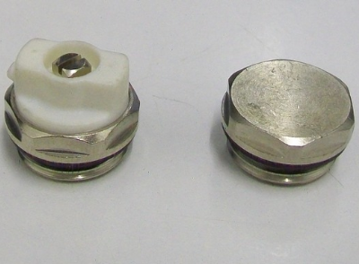 Radiator Directional Bleed Valve Vent and End Cap - 07000071/2